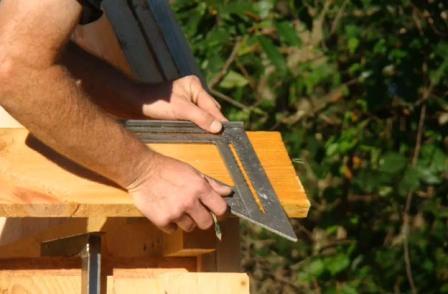 Деревянный домик своими руками конструктор