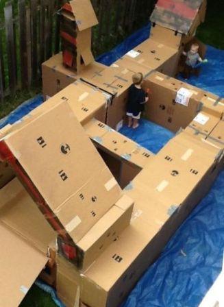 Самодельная детская игровая площадка