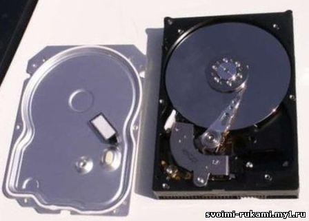 Жесткий диска HDD самостоятельная сборка