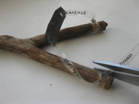 Рогатка из дерева