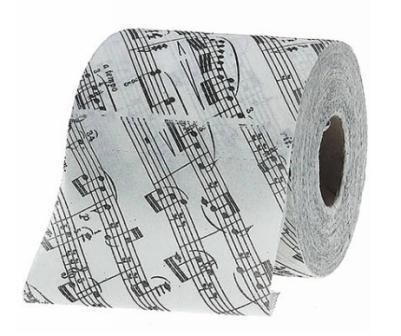 Туалетная бумага музыкальные ноты