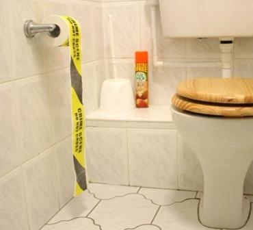 Туалетная бумага полицейска лента