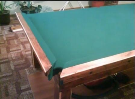 бильярдный стол своимми руками