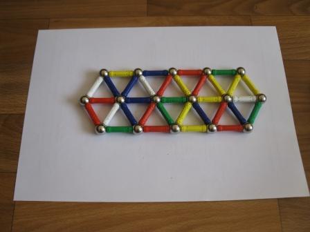 Поделки из магнитных конструкторов