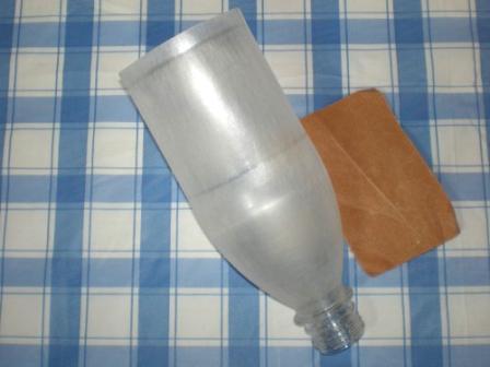 Светильник из пластиоковых бутылок