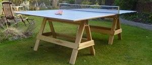 Как сделать теннисный стол своими руками