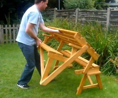 Как сделать скамейку трансформер