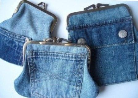Из старых джинс своими руками коврик