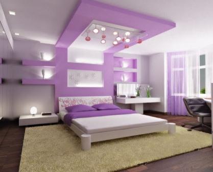 Дизайн интерьера спален