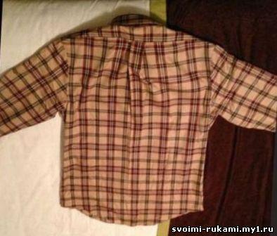 Как складывать рубашку в чемодан