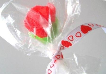 Как сделать розу из мармелада