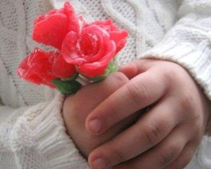 розы из мармелада