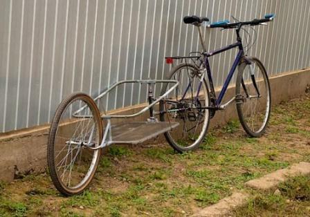 Грузовой велоприцеп сделай сам