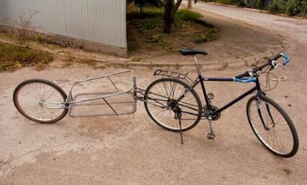 Велоприцеп для перевозки груза
