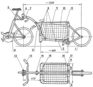 Изготовление велоприцепа