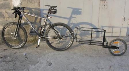 Велоприцеп своими руками