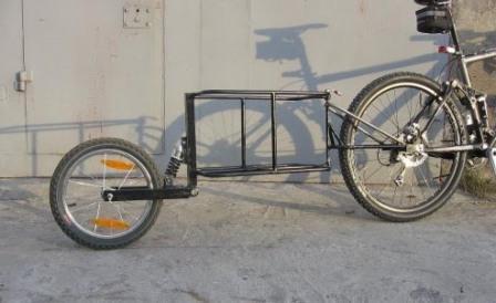 Как сделать велоприцеп