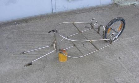 Грузовой велоприцеп чертеж