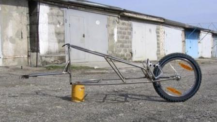 Как сделать грузовой велоприцеп