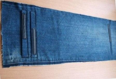 Выкройки сумок из джинсов