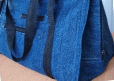 Как из джинсов сделать сумку