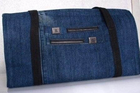 Сумки из джинса фото