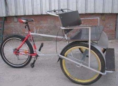 Как сделать велорикшу