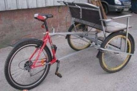 на базе велосипеда Команч