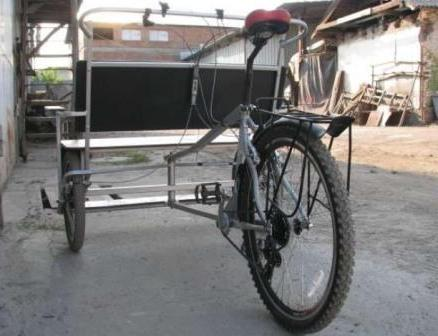 Велосипед велорикша своими руками фото 657