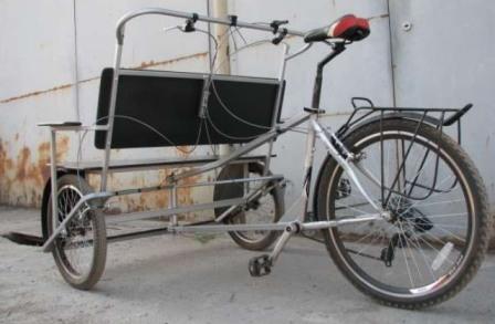 Велосипед велорикша своими руками фото 795
