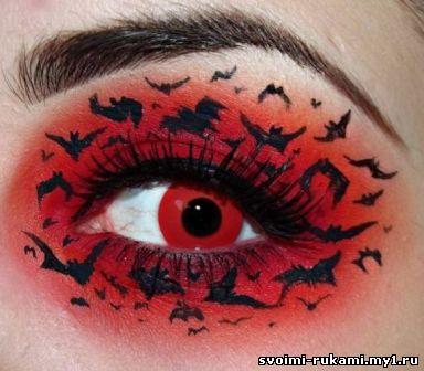 макияж для опущенных глаз