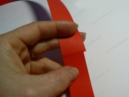игрушка для елки из бумаги