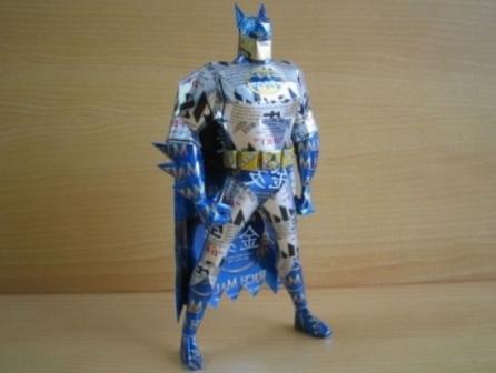 Бетмен из алюминиевых банок
