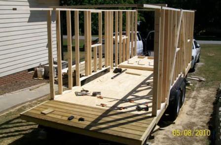 Как построить дом на колесах