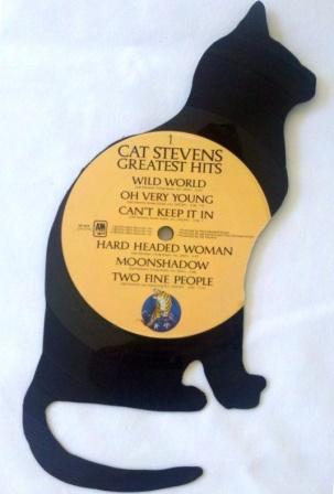 Кот из пластинки
