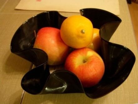 Ваза для фруктов из пластинки