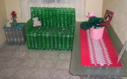 Мебель из пластиковых бутылок своими руками - Поделки, делаем самостоятельно