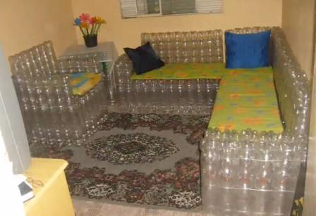Своими руками мебель из пластиковых бутылок