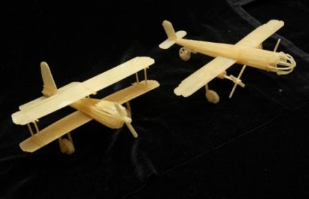Самолеты из макарон