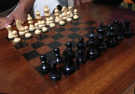 Как сделать шахматную доску