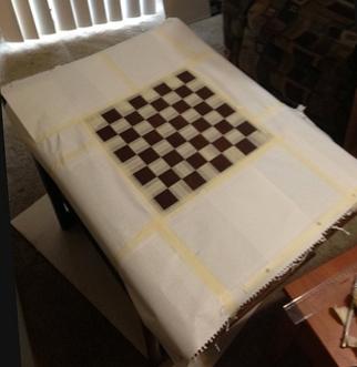 Как сделать шахматную доску самому