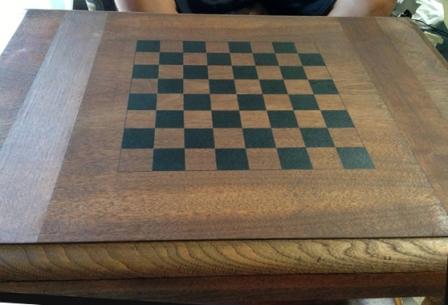 Изготовление шахматной доски