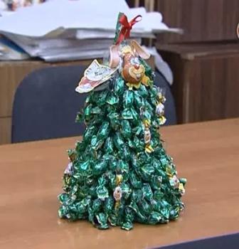 Как сделать конус из бумаги для елки