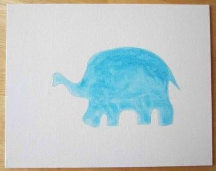 Как сделать открытку из пуговиц
