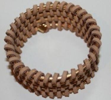 Плетённый браслет своими руками