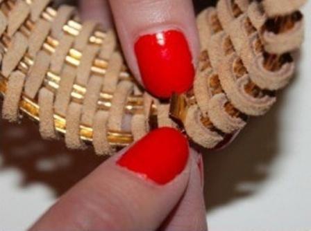Как сделать плетенный браслет
