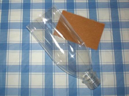 Плафон из пластиковой бутылки