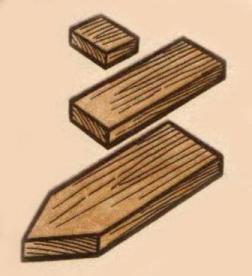 Деревянный кораблик своими руками