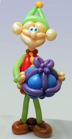 Поделки фигурки из шариков колбасок