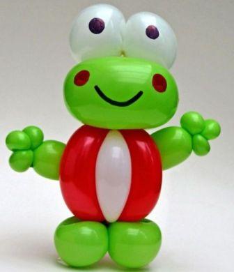 Лягушка из шариков